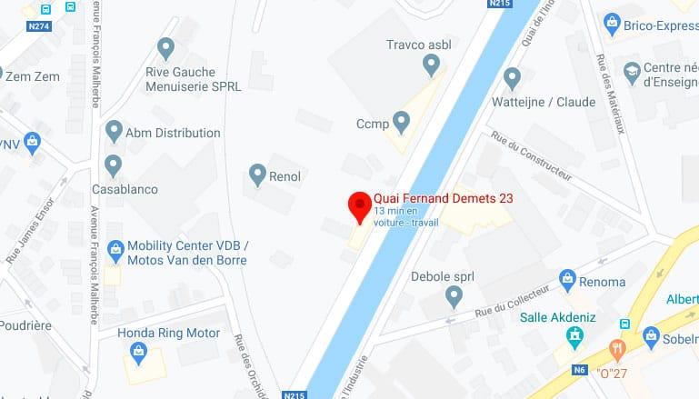 23 Quai Fernand Demtskaai, Anderlecht